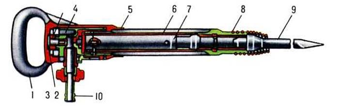 пневматический отбойный молоток