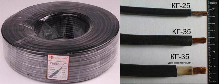 Сварочный кабель. Цена за метр