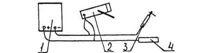 схема подключения термопенала