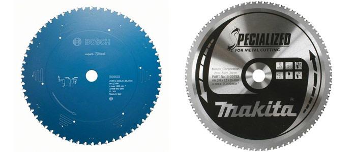 диски пильные по металлу