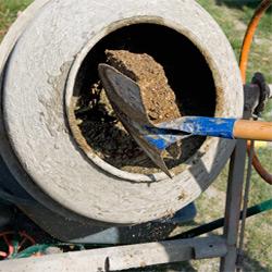 пропорции бетона в вёдрах для бетономешалки