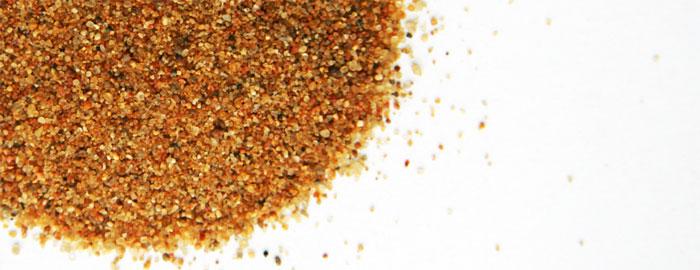 Песок для пескоструйного аппарата и его аналоги