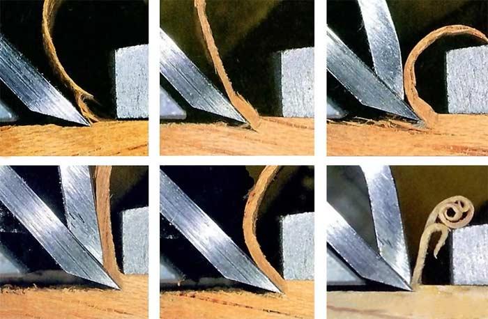 Ножи для рубанка. Замена и углы заточки