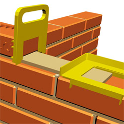 How to make a brick installation