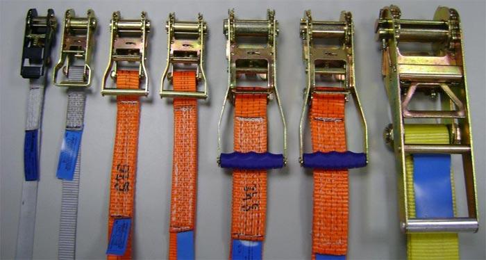 Стяжные ремни для крепления груза. Безопасность транспортировки