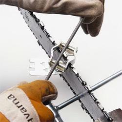 напильник для заточки цепи бензопилы