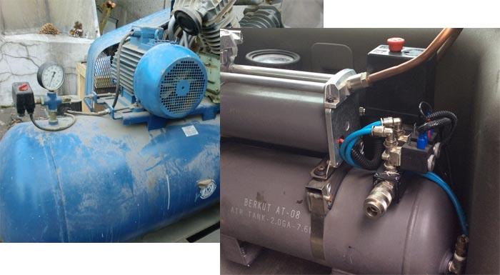 устройство ресивера для компрессора