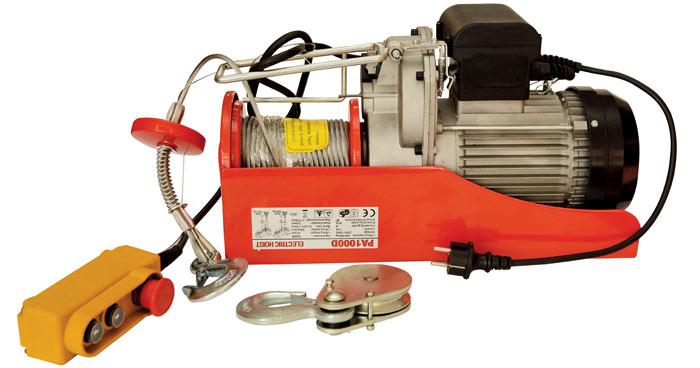 Электрический тельфер. Обязательный механизм крупного производства