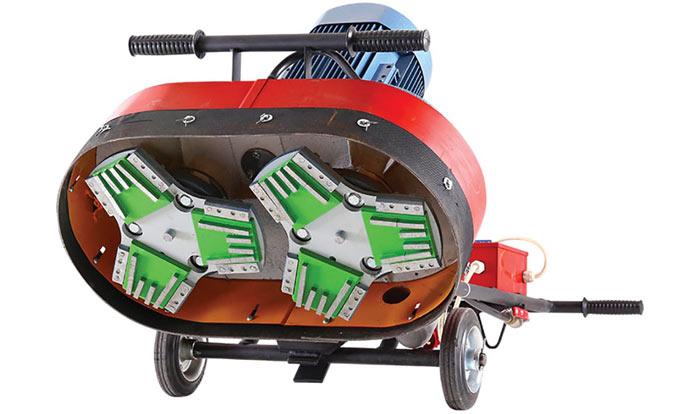 Мозаично-шлифовальная машина. Превращаем бетон в зеркало