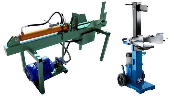 Гидравлический дровокол. Быстрая заготовка дров