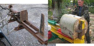 Гидравлический колун дров своими руками 700