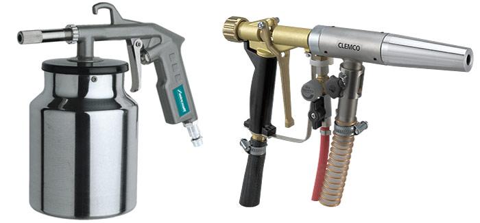 Пескоструйный пистолет для компрессора. Абразивная обработка в домашних условиях