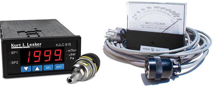 Вакуумметр. Измерение давления разрежённых газов