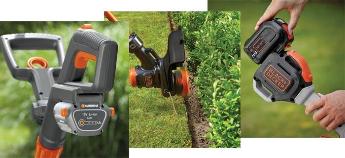 аккумуляторные триммеры для травы