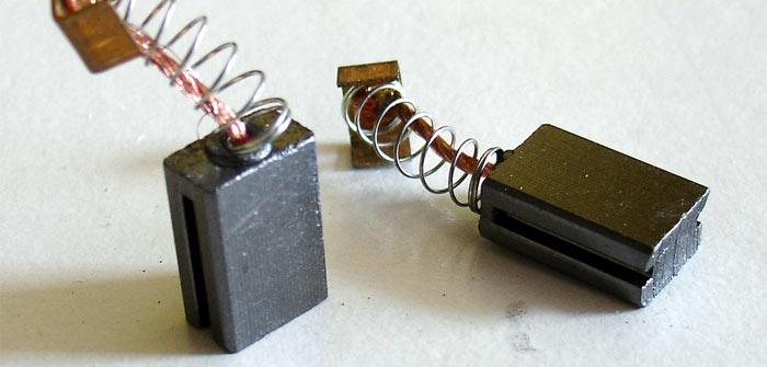 графитовые щётки для электроинструмента