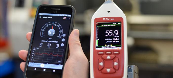 Прибор измеряющий уровень шума