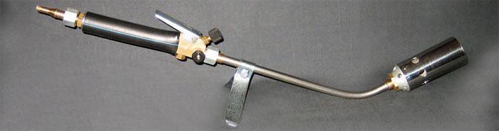 Газовая горелка на баллончик приклеить технониколь