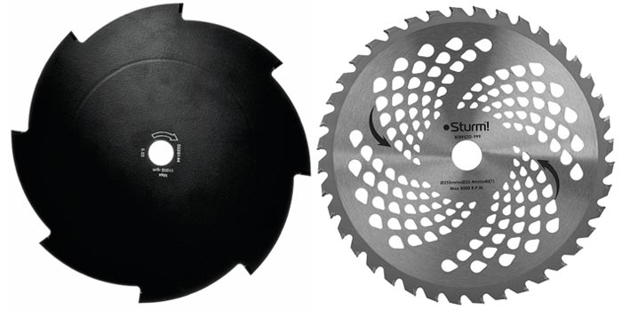дисковый нож для триммера