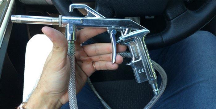 пескоструйный пистолет для компрессора