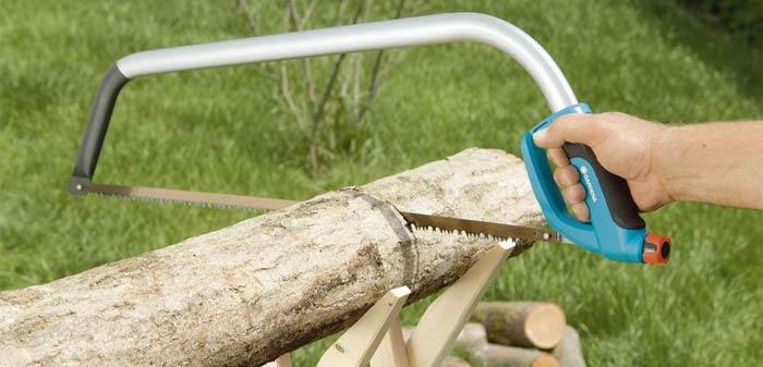 лучковая пила по дереву