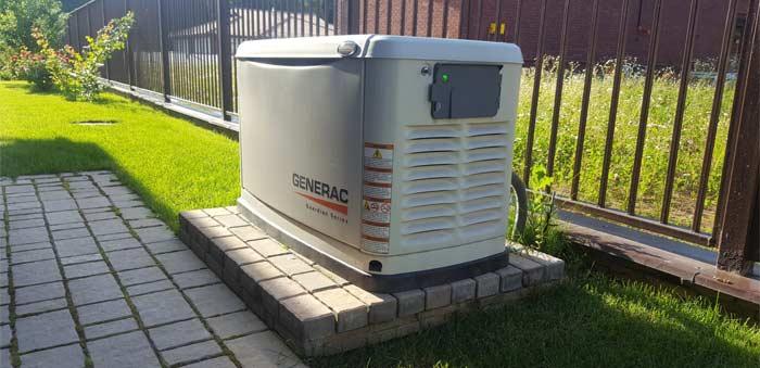 газовый генератор для дома с автозапуском