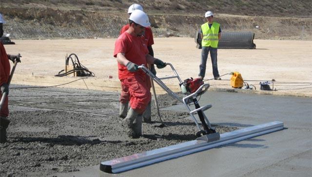 виброрейка для укладки бетона