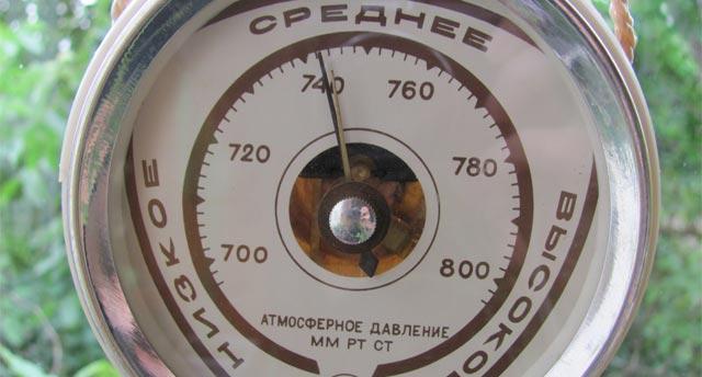 показания барометра