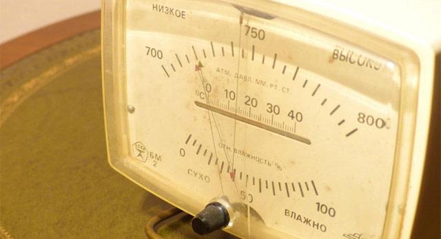 советский барометр