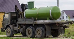 доставка газгольдера
