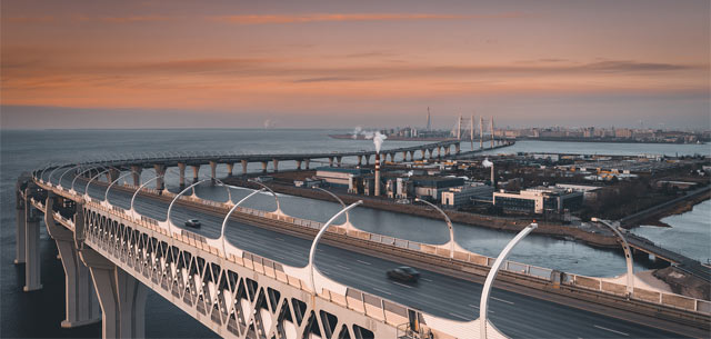 Западный скоростной диаметр (ЗСД) в Санкт-Петербурге