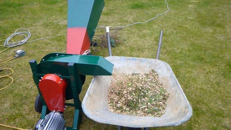 Как сделать самодельный садовый измельчитель своими руками