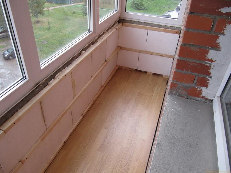 Как утеплить балкон изнутри своими руками - пошаговая инструкция с видео